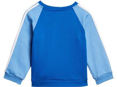 "ADIDAS Jungen Baby Jogginganzug ""Logo Fleece"" Silber"