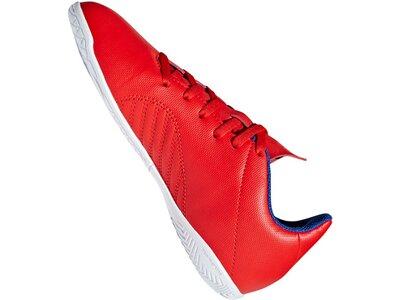 ADIDAS Fußball - Schuhe Kinder - Halle X 18.4 IN Halle J Kids Rot