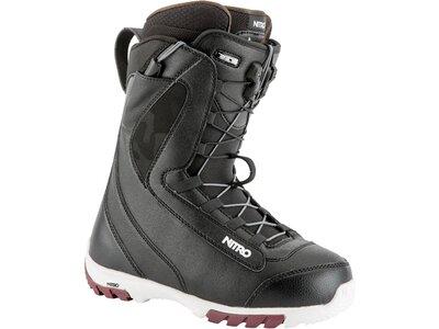 "NITRO Damen Snowboardschuhe/ Softboots ""Cuda TLS19"" Schwarz"