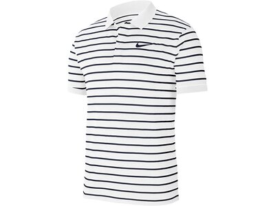 "NIKE Herren Tennis-Poloshirt ""NikeCourt Dri-FIT"" Weiß"