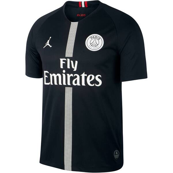 NIKE Herren Fußballtrikot Breathe Paris Saint-Germain Stadium Kurzarm