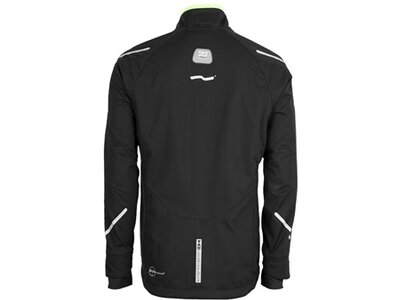TAO Herren Funktionsjacke mit drei Körperklimazonen Compensative Jacket Schwarz