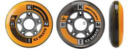 Vorschau: K2 Inliner Rollen Set 84mm / 82A 8er Pack