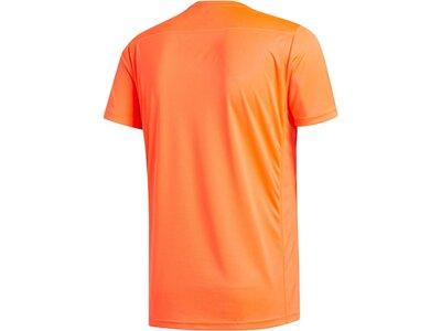 "ADIDAS Herren Laufshirt ""Run It Tee PB 3 Stripes"" Rot"