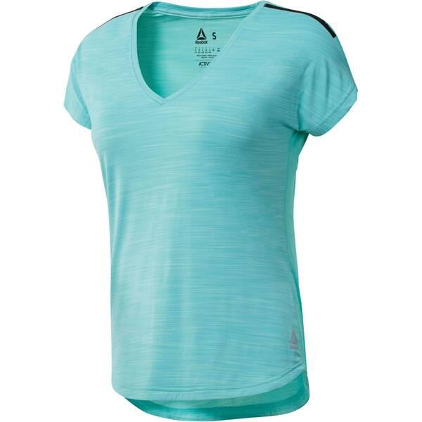 REEBOK Damen Trainingsshirt Activchill Kurzarm