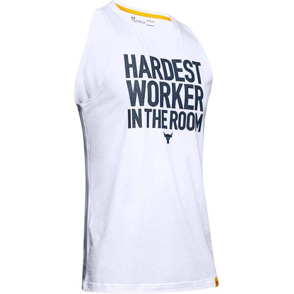 "UNDERARMOUR Herren Fitness-Tanktop ""Project Rock Cut-Off"""