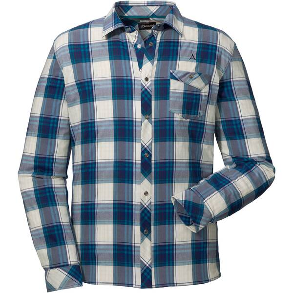 SCHÖFFEL Herren Wanderhemd Shirt Antwerpen Langarm