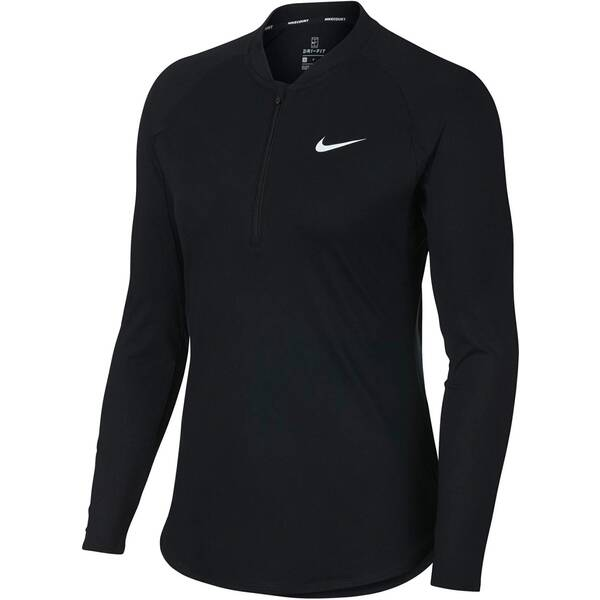NIKE Damen Tennissweatshirt Women's NikeCourt Pure Tennis Top Langarm
