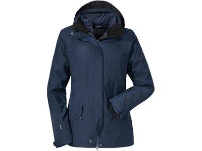 SCHÖFFEL Damen Doppeljacke 3in1 Jacket La Parva Blau