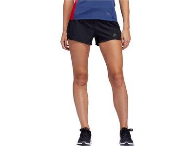 "ADIDAS Damen Laufshorts ""Run It"" Schwarz"