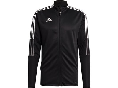 ADIDAS Fußball - Teamsport Textil - Jacken Tiro 21 Trainingsjacke Schwarz