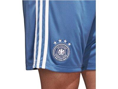 """ADIDAS Herren Fußballshorts """"DFB Torhüter-Heimshorts"""" WM 2018 Weiß"""