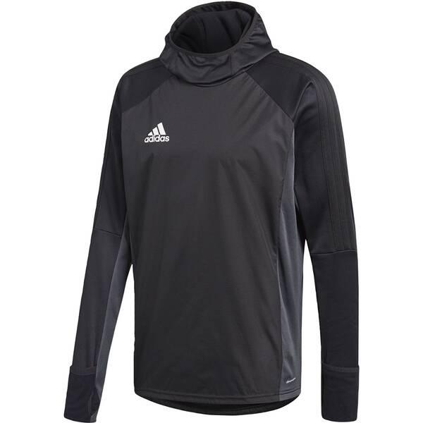 ADIDAS Herren Tiro 17 Warm Shirt Schwarz