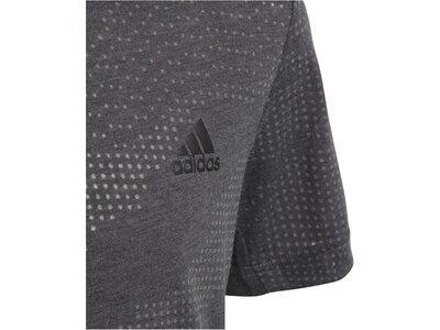 ADIDAS Kinder Trainingsshirt Aeroknit Grau