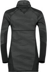 ODLO Herren Funktionsshirt Blackcomb SUW Top mit Gesichtsmaske Langarm