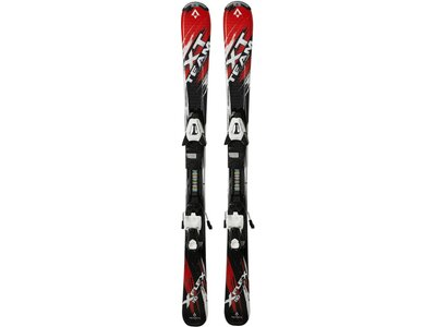 "TECNOPRO Kinder Skier ""XT Team ET Jr."" inkl. Bindung ""ETC45/ETL75"" Schwarz"