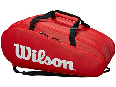 "WILSON Tennistasche ""Tour 3"" Rot"