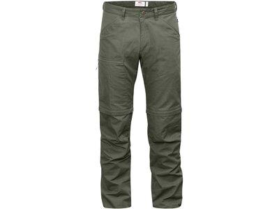 "FJÄLLRÄVEN Herren Zip-Off-Hose ""High Coast Trousers Zip-Off"" Grau"