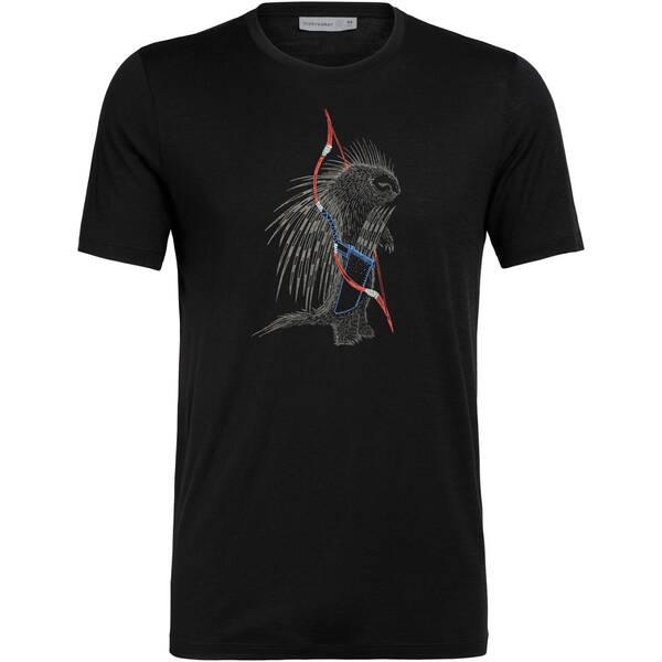"""ICEBREAKER Herren T-Shirt """"Tech Lite Short Sleeve Crewe Quill"""""""