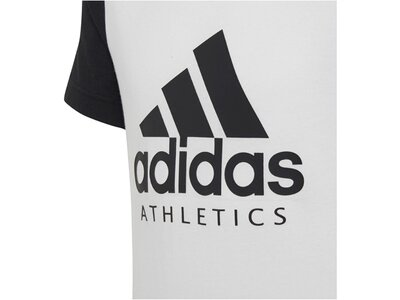 ADIDAS Kinder Trainingsshirt Weiß
