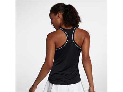 "NIKE Damen Tennis Tanktop ""Nikecourt Dri-Fit"" Schwarz"