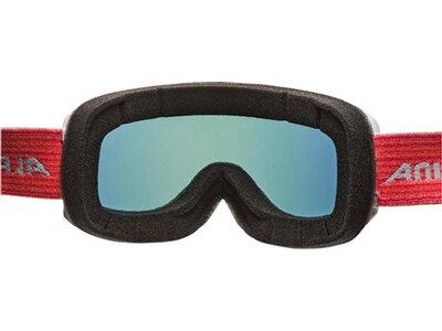"ALPINA Damen Skibrille/Snowboardbrille ""Scarabeo S MM"" Braun"