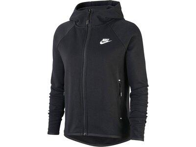 """NIKE Damen Sweatshirtjacke """"Tech Fleece"""" Schwarz"""
