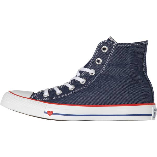 "CONVERSE Damen Sneaker ""Chuck Taylor All Star Sucker Love Denim High Top"""