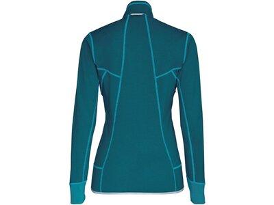 """SALEWA Damen Fleecejacke """"Puez Melange2 Polarlite Women's Full-Zip-Fleece"""" Blau"""