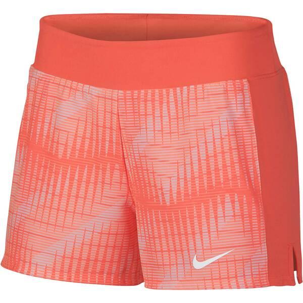 NIKE Damen Tennis-Shorts NikeCourt Flex Pure   Sportbekleidung > Sporthosen > Tennisshorts   Mango - White   NIKE