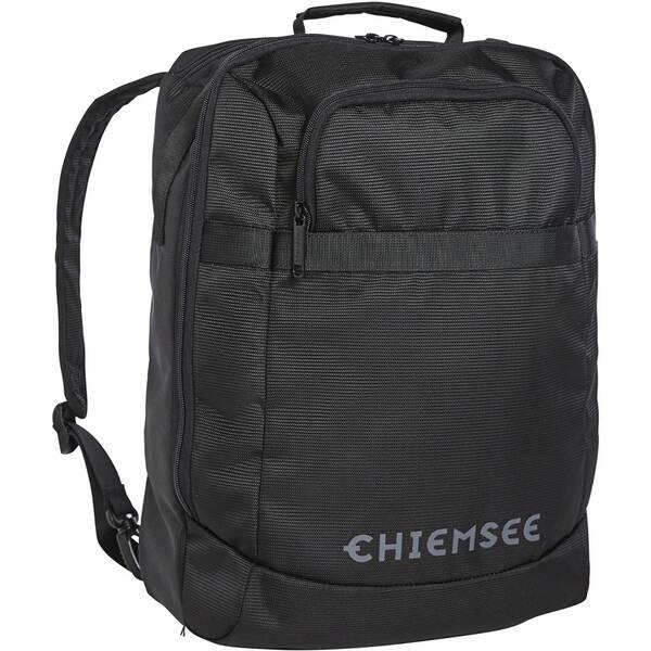 CHIEMSEE Reisetasche mit Trolleyaufsteckfunktion Schwarz