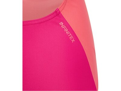 "ADIDAS Mädchen Badeanzug ""Fitness Training Suit Colorblock 3 Stripes"" Pink"