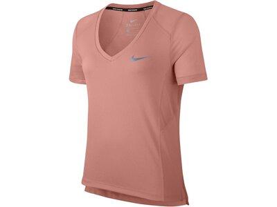 "NIKE Damen Laufshirt ""Miler"" Kurzarm Pink"