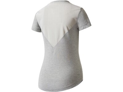 "ADIDAS Damen Trainingsshirt ""Prime Tee Mix"" Grau"