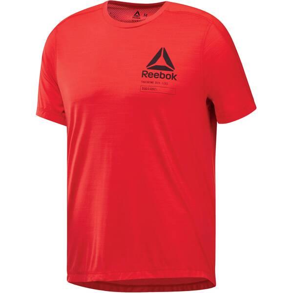 REEBOK Herren Trainingsshirt Activchill Kurzarm