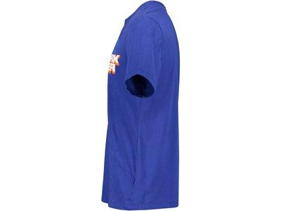 "NIKE Herren Basketballshirt ""Mantra"" Kurzarm Blau"