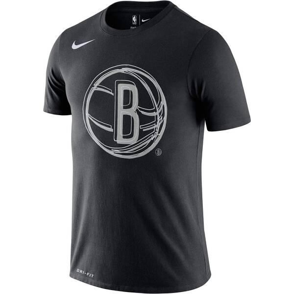 "NIKE Herren Basketball-Shirt ""Nets"" Kurzarm"
