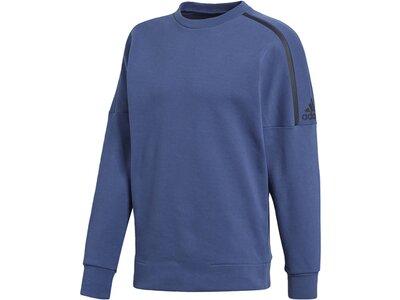 ADIDAS Herren adidas Z.N.E. Sweatshirt Blau
