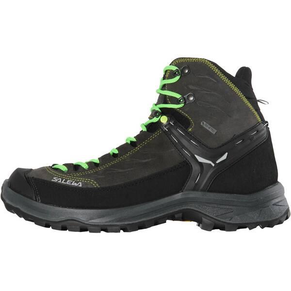 SALEWA Herren Trekkingschuhe Hike Trainer Mid GTX | Schuhe > Outdoorschuhe > Trekkingschuhe | Black - Green | SALEWA