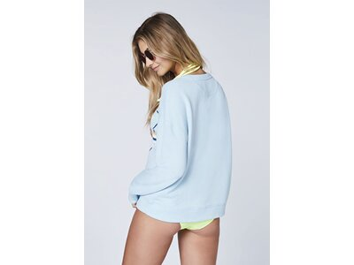 CHIEMSEE Sweatshirt mit Logoprint Blau