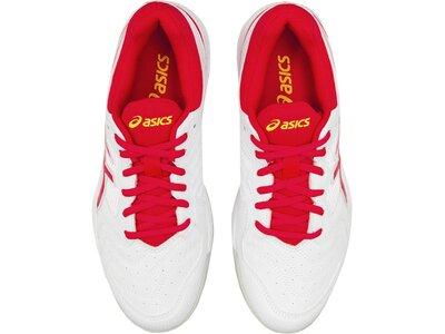 "ASICS Damen Tennisschuhe ""Gel-Dedicate 6"" Indoor Weiß"