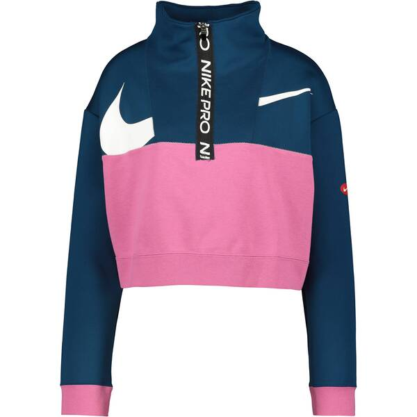 "NIKE Damen Trainings-Sweatshirt ""Dri-FIT Get Fit"""