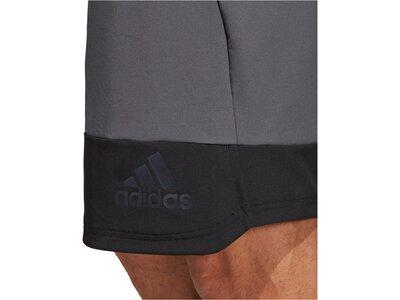 "ADIDAS Herren Trainingsshorts ""4K Tech Elevated Woven Shorts"" Grau"