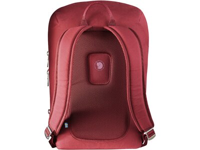 "FJÄLLRÄVEN Tages- und Wanderrucksack ""Kiruna Backpack Small"" redwood Rot"