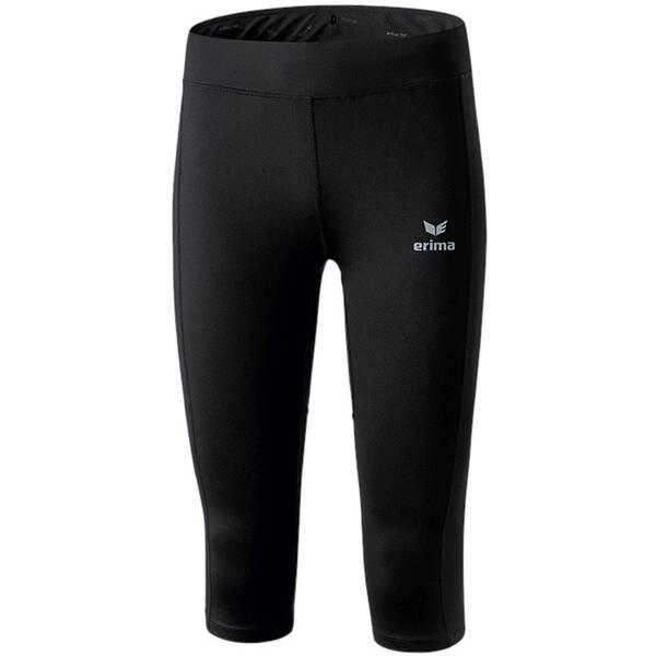 ERIMA Running - Textil - Hosen kurz Performance Laufhose 3/4 Damen, Größe 36 i