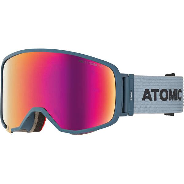 ATOMIC Skibrille Revent L FDL Stereo Blue