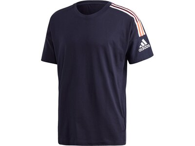 "ADIDAS Herren Trainingsshirt ""Z.N.E. 3-Stripes"" Schwarz"