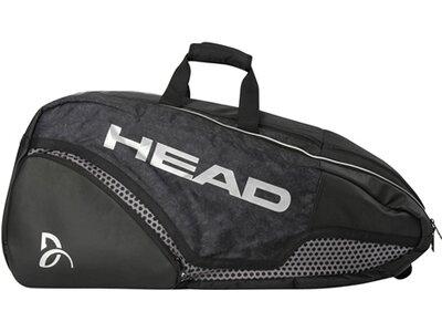 """HEAD Schlägertasche """"Djokovic 12R Monstercombi"""" Schwarz"""