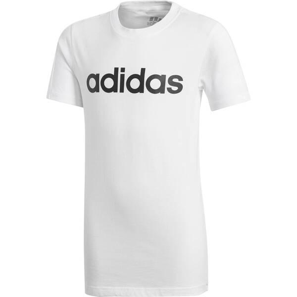 ADIDAS Jungen Shirt Kurzarm Grau