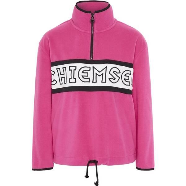CHIEMSEE Fleece Pullover mit hohem Kragen